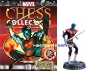 Marvel Chess Collection #37 Nightcrawler Eaglemoss Publications